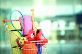 picture of cart  - Shopping concept - JPG