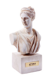 stock photo of artemis  - Artemis was the great Olympian goddess of hunting wilderness and wild animals - JPG