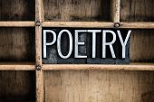 stock photo of poetry  - The word  - JPG