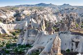 picture of goreme  - View of the small town Goreme in Cappadocia - JPG