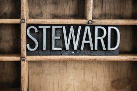 stock photo of stewardship  - The word  - JPG