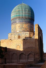 picture of mosk  - Evening view from Bibi - JPG