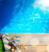 picture of beach shell art  - ar beach summer - JPG