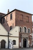stock photo of synagogue  - old synagogue in jewish district of krakow  - JPG