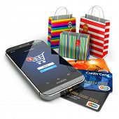 pic of electronic commerce  - E - JPG