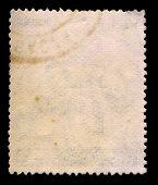 Постер, плакат: Фон почтовая марка