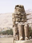 pic of life after death  - memnon colossi - JPG