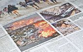 Japanese catastrophe-earthquake & tsunami, in news.
