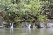 image of rogue  - tranquility on the rogue river in southern Oregon - JPG