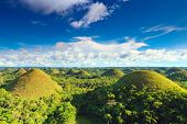 image of chocolate hills  - View of The Chocolate Hills - JPG