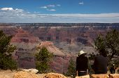 Grand Canyon Tourists poster