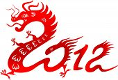 picture of chinese zodiac  - Chinese dragon - JPG