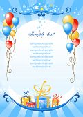 picture of happy birthday  - happy birthday background - JPG