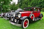 BADEN-BADEN, GERMANY  JULY 13:  ROLLS-ROYCE PHANTOM (1934)  at The International Exhibition of old c
