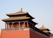Historical Architecture In Beijing poster