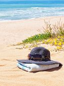 stock photo of panama hat  - Women - JPG