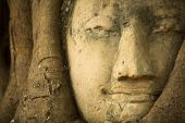 picture of buddha  - Close - JPG