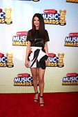 LOS ANGELES - APR 27:  Selena Gomez arrives at the Radio Disney Music Awards 2013 at the Nokia Theat