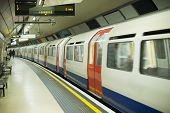 picture of railcar  - Underground in London - JPG