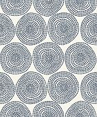 stock photo of dash  - Seamless stylish hand drawn pattern - JPG