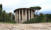 foto of hercules  - the temple of Hercules aka Vesta in Rome Italy