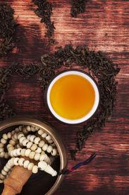 image of ohm  - Traditional tea ritual - JPG