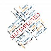 stock photo of self-employment  - Self - JPG
