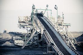 foto of open-pit mine  - Open pit - JPG
