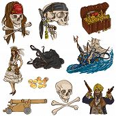 picture of buccaneer  - Pirates and Buccaneers  - JPG