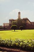 foto of rashtrapati  - Facade of a government building - JPG