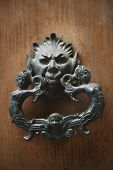 picture of messina  - Detail of a door knocker - JPG