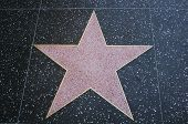 Walk of Fame leere star