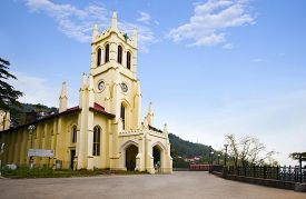 picture of himachal  - Christ Church - JPG