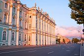 image of winter palace  - The building of Hermitage and Winter Palace in St - JPG