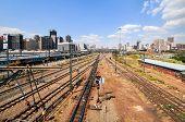 stock photo of nelson mandela  - Johannesburg South Africa  - JPG