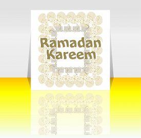 picture of ramadan mubarak card  - Ramadan Kareem  - JPG