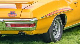stock photo of muscle-car  - GROSSE POINTE SHORES MI - JPG
