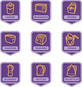 Merchandise Pictogram Series - Kitchen Appliances