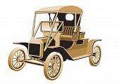 Historic Antique Car 2 poster