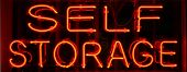 "stock photo of self-storage  - ""neon sign"" series ""self storage"" - JPG"