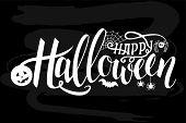 Halloween-artboard poster