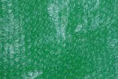 Plastic Green White Texture Of A Piece Of Cellophane poster