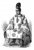 foto of shogun  - Tokugawa Yoshinobu aka Keiki - JPG