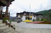 Pungtang Dechen Photrang Dzong Or Palace Of Great Bliss. Inner View . Administrative Centre. Punakha poster
