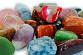 picture of talisman  - Various stones minerals gems that contain spiritual force human believes - JPG