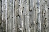 Old Weathered Wooden Fence poster