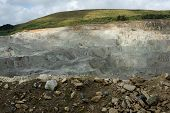 picture of feldspar  - china clay  - JPG