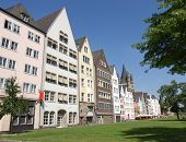 pic of koln  - Historical traditional houses in Koeln  - JPG