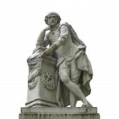 picture of william shakespeare  - Statue of William Shakespeare  - JPG