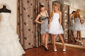 picture of dress mannequin  - Two girlfriends  - JPG